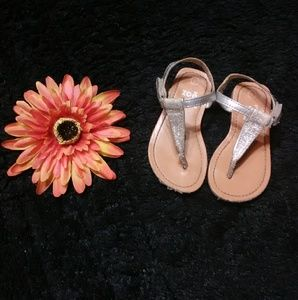 Other - Baby Girl Zoe & Zac Silver Sparkle Sandals